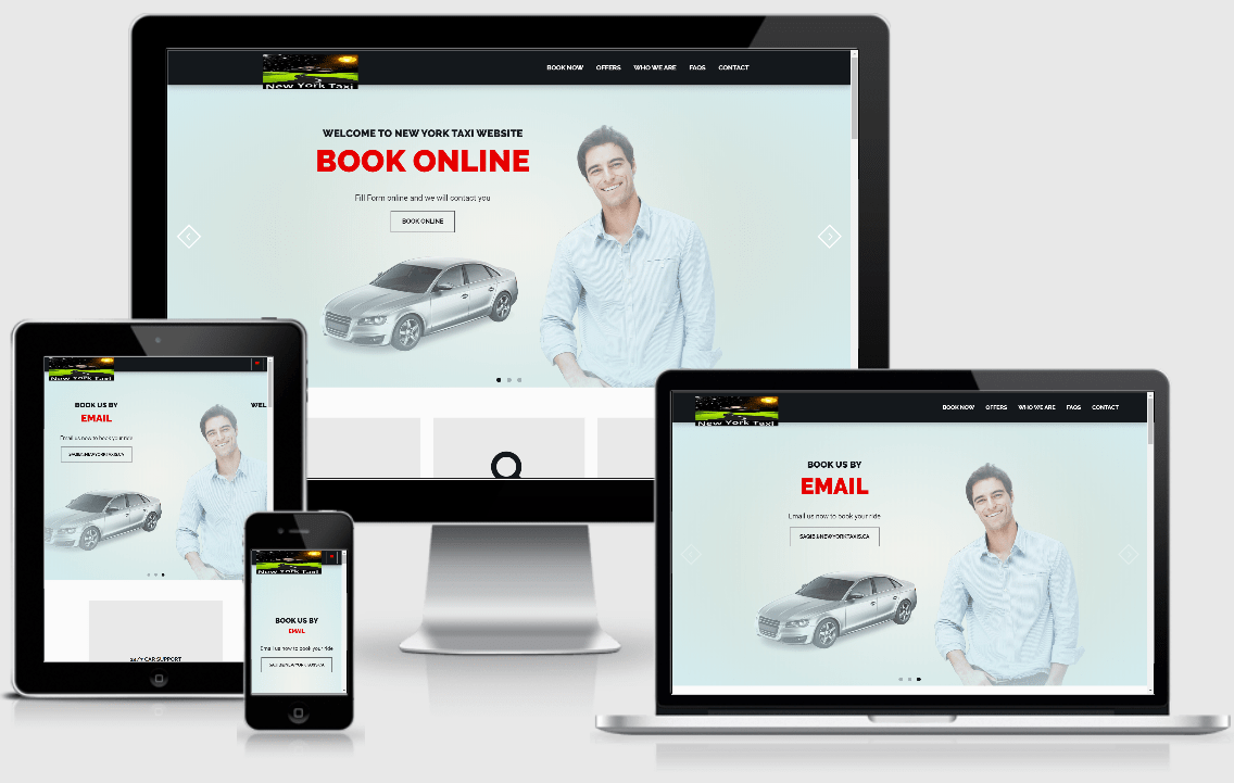 Online Car Rental Website